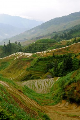 Longshen Mountain Villages in Longshen, China