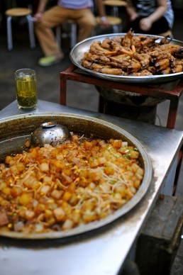 Xi'an Street Life in Xian, China