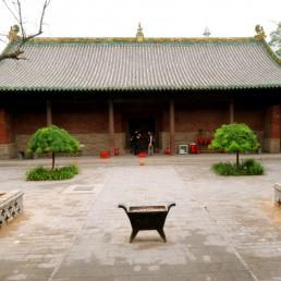 Shuanglin Temple in Pingyao, China