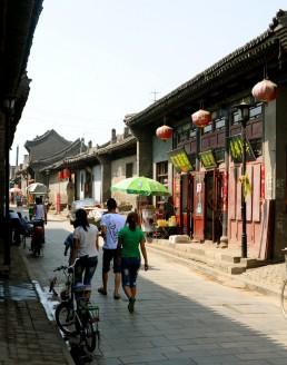 Pingyao City Life in Pingyao, China