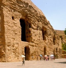Yungang Grottoes in Datong, China by architect Tan Yao