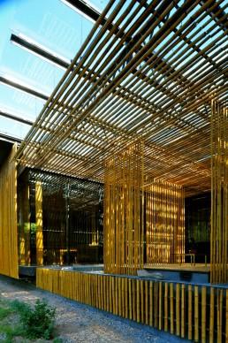 Bamboo Wall House in Beijing, China by architect Kengo Kuma