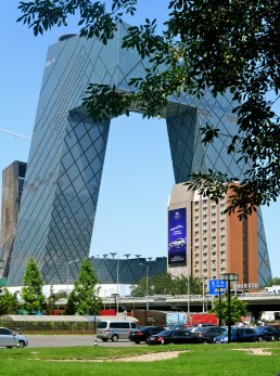 China Central Television Headquarters in Beijing, China by architect OMA