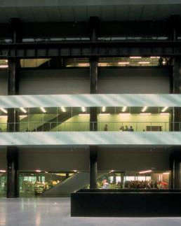 Larry Speck Herzog de Meuron TATE MODERN POWERPLANT REMODEL LONDON