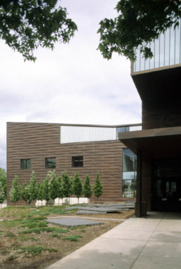 Stephen Holl College of Architecture and Landscape Architecture University of Minnesota Exterior