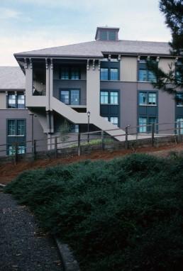 Haas School of Business in Berkeley, California by architect Charles Moore