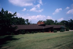 W.D. Harral Residence in Fayetteville, North Carolina by architect Faye Jones