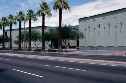 Phoenix Art Museum in Phoenix, Arizona by architects Tod Williams, Billie Tsien, Alden Dow/Blaine Drake
