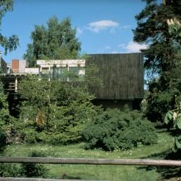 Aalto House in Helsinki, Finland by architect Alvar Aalto