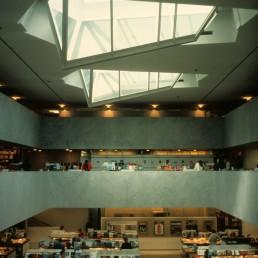 Academic Bookstore in Helsinki, Finland by architect Alvar Aalto