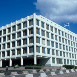 Enso-Gutzeit Headquarters in Helsinki, Finland by architect Alvar Aalto