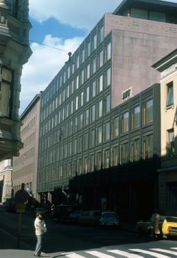 Nordic Union Bank in Helsinki, Finland by architect Alvar Aalto
