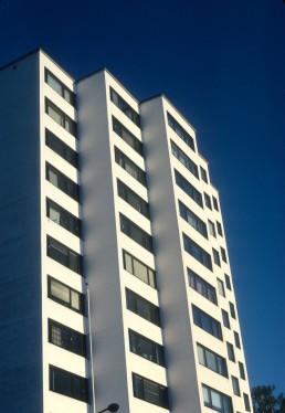 Viitatorni Residential Tower in Jyväskylä, Finland by architect Alvar Aalto