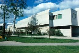Jyväskylä Police Headquarters in Jyväskylä, Finland by architect Alvar Aalto