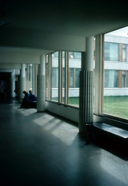 Helsinki University of Technology in Espoo (Otaniemi), Finland by architect Alvar Aalto