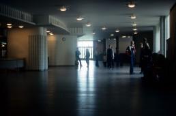 Helsinki University of Technology in Espoo (Otaniemi), Finland by architect Alvar Aalto