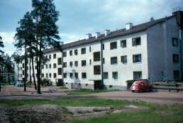Sunila Housing in Kotka, Finland by architect Alvar Aalto