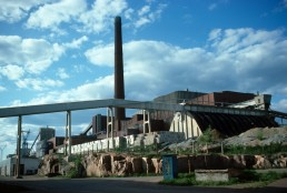 Cellulose Factory in Kotka, Finland by architect Alvar Aalto