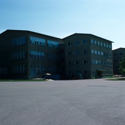 Stromberg Factory in Vaasa, Finland by architect Alvar Aalto