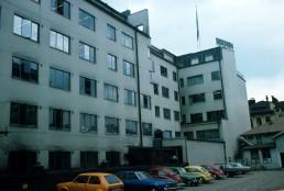Turun Sanomat Building in Turku, Finland by architect Alvar Aalto