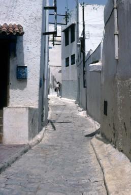 Morocco Street Scene in Rabat, Morocco