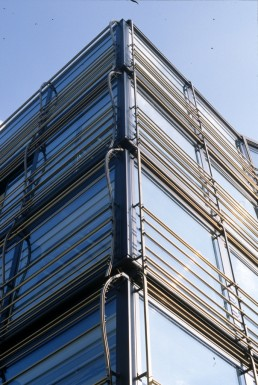 Commercial and Apartment Building Herrnstrasse in Munich, Germany by architect Herzog & de Meuron