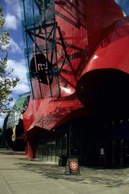 Experience Music Project in Seattle, Washington by architect Frank Gehry