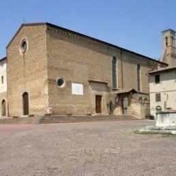 Sant' Agostino in San Gimignano, Italy