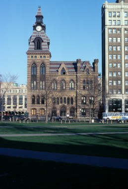 New Haven Town Hall in New Haven, Connecticut by architect Henry Austin