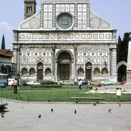 Santa Maria Novella in Florence, Italy