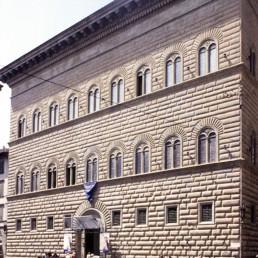 Palazzo Strozzi in Florence, Italy by architects Giuliano da Sangallo the Younger, Benedetto da Maiano, Simone del Pollaiolo, Caparra