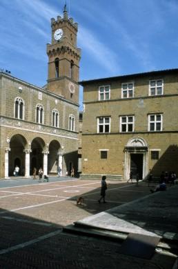 Puis II Square in Pienza, Italy
