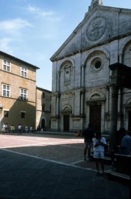 Duomo in Pienza, Italy