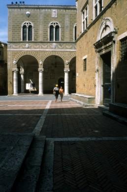 Palazzo Comunale by architect Bernardo Rossellino
