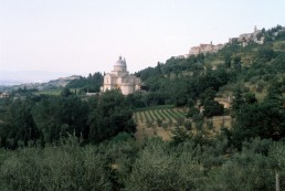 San Biagio in Montepulciano, Italy by architect Antonio da Sangallo the Elder