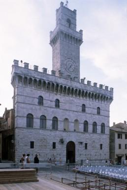 Palazzo Comunale in Montepulciano, Italy