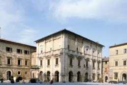 Palazzo Nobili-Tarugi in Montepulciano, Italy by architect Antonio da Sangallo the Elder