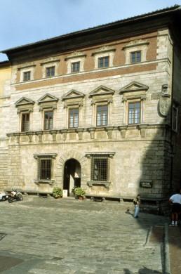 Palazzo del Capitano in Montepulciano, Italy