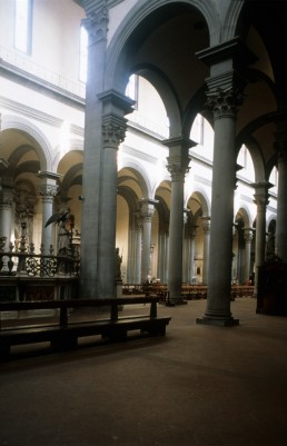 Santo Spirito in Florence, Italy by architect Antonio di Tuccio Manetti