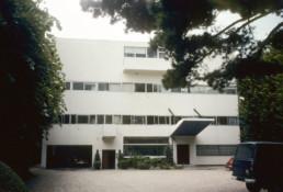 Le Corbusier Villa Stein Modernist House Paris Exterior