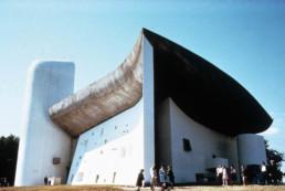 Le Corbusier Colline Notre Dame du Haut Ronchamp France Larry Speck