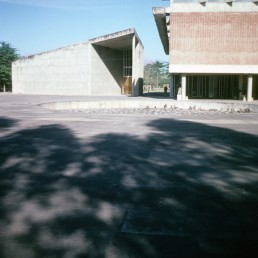 Government Museum and Art Gallery in Chandigarh, India by architects Le Corbusier, Charles-Édouard Jeanneret