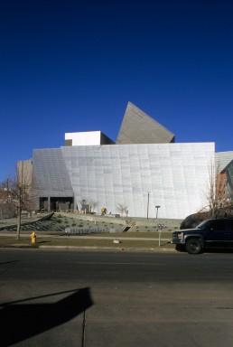 Denver Art Museum + Residences in Denver, Colorado by architect Daniel Libeskind
