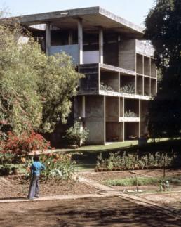 Le Corbusier Villa Shodan Modernist House India Exterior Concrete Brutalist