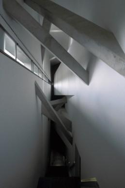 Jewish Museum Berlin (interior) in Berlin, Germany by architect Daniel Libeskind