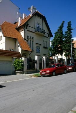 Jugendstil house in Brno, Czechia