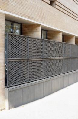 Edificio de la Prevision Espanola in Sevilla, Spain by architect José Rafael Moneo