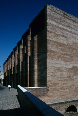 National Museum of Roman Art in Merida, Spain by architect José Rafael Moneo