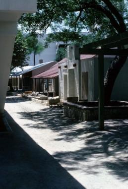 La Villita in San Antonio, Texas by architect O'Neil Ford