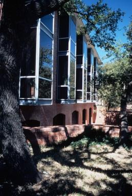Trinity University, Northup Hall in San Antonio, Texas by architect O'Neil Ford